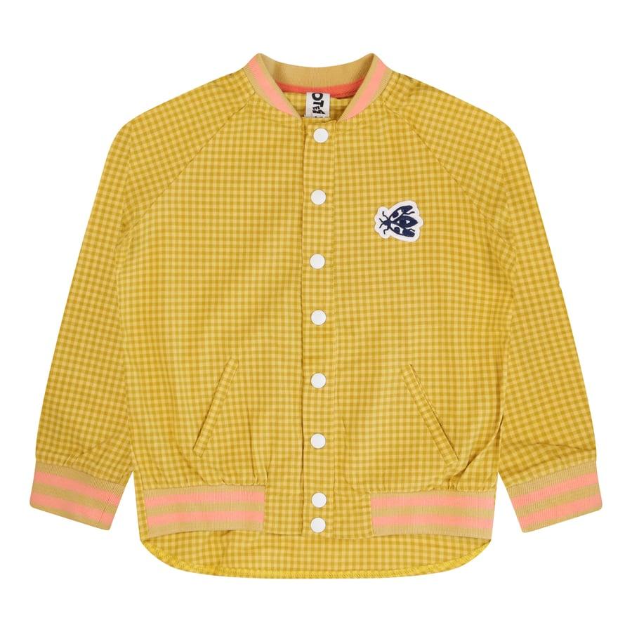 Image of Gingham Bomber Shirt