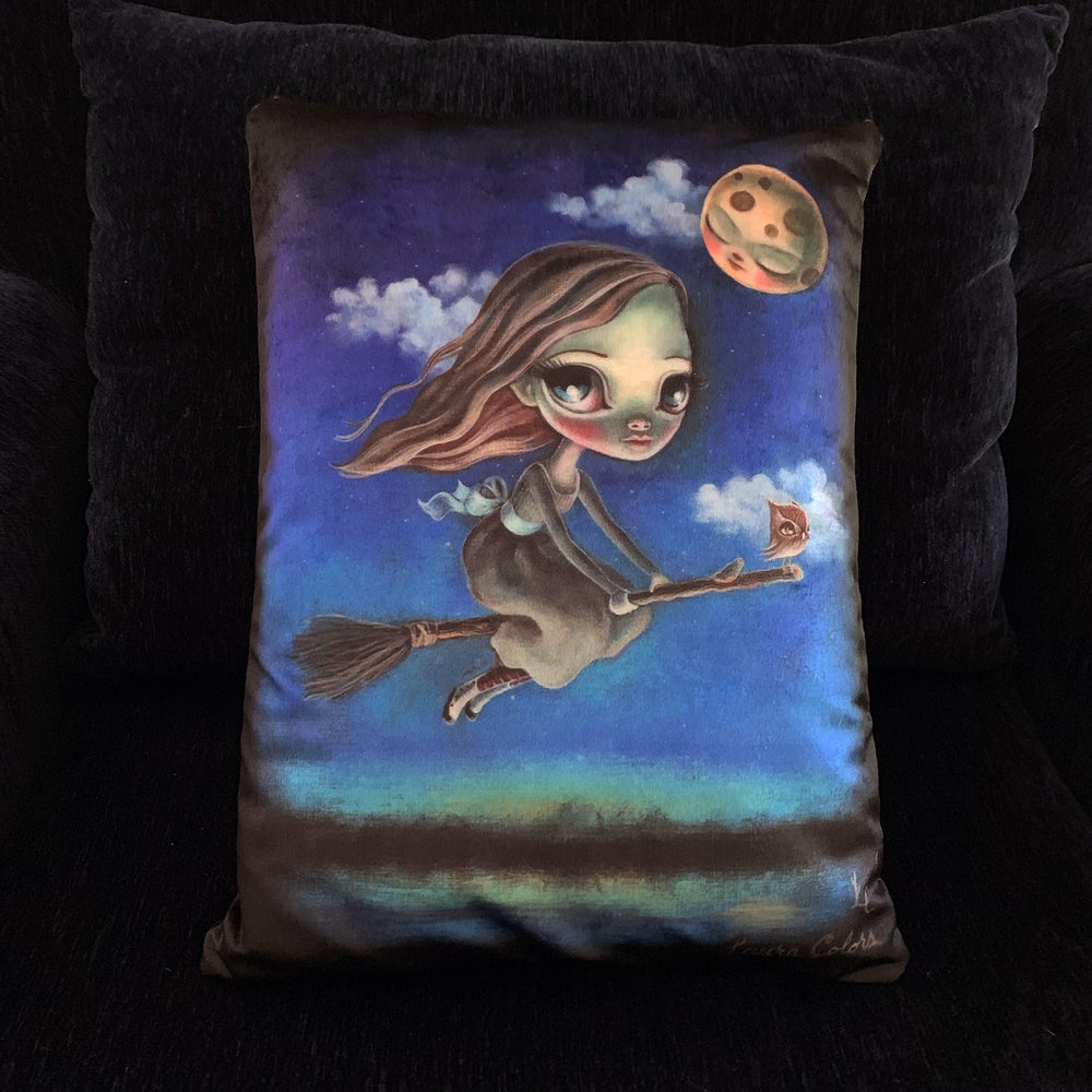 Image of Double, Double Toil and Trouble (Art Pillow)
