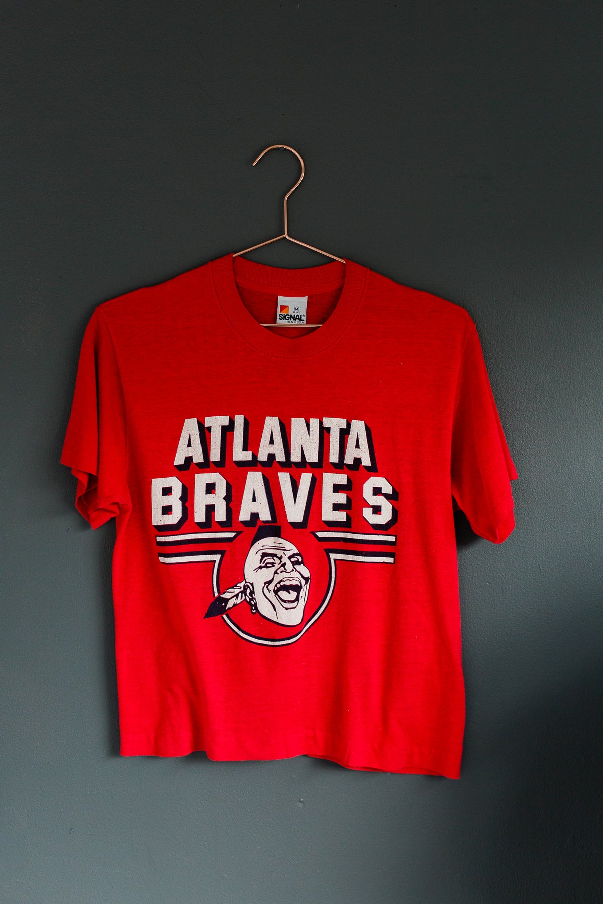 Image of Early 90's Atlanta Braves Baseball Tee