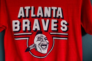 Image of Atlanta Braves Baseball Tee