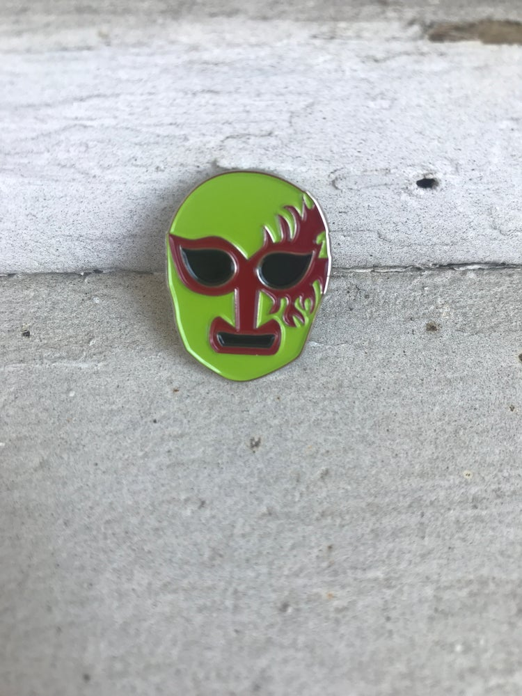 Image of Máscaras 2 (Green & Red)