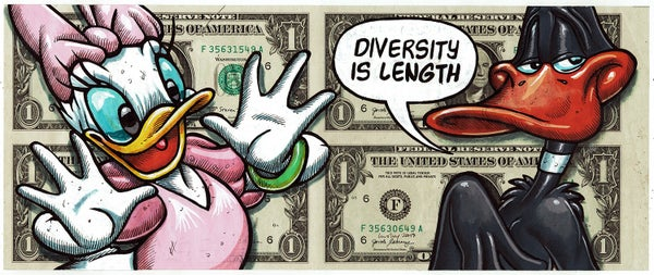 Image of Uncut Dollar Original. Diversity Is Length.