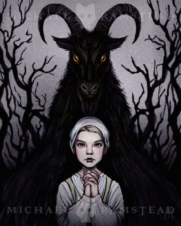 Image of THE VVITCH - Fine Art Print
