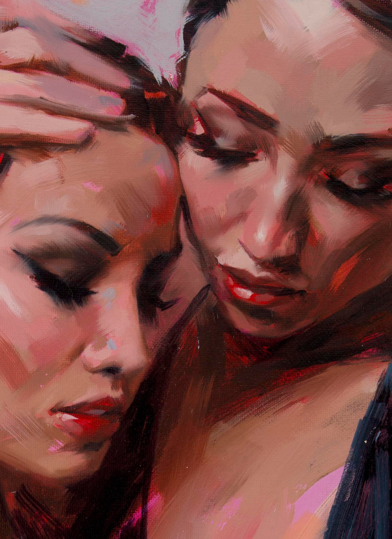 Image of 'EMBRACE' Original Oil Painting