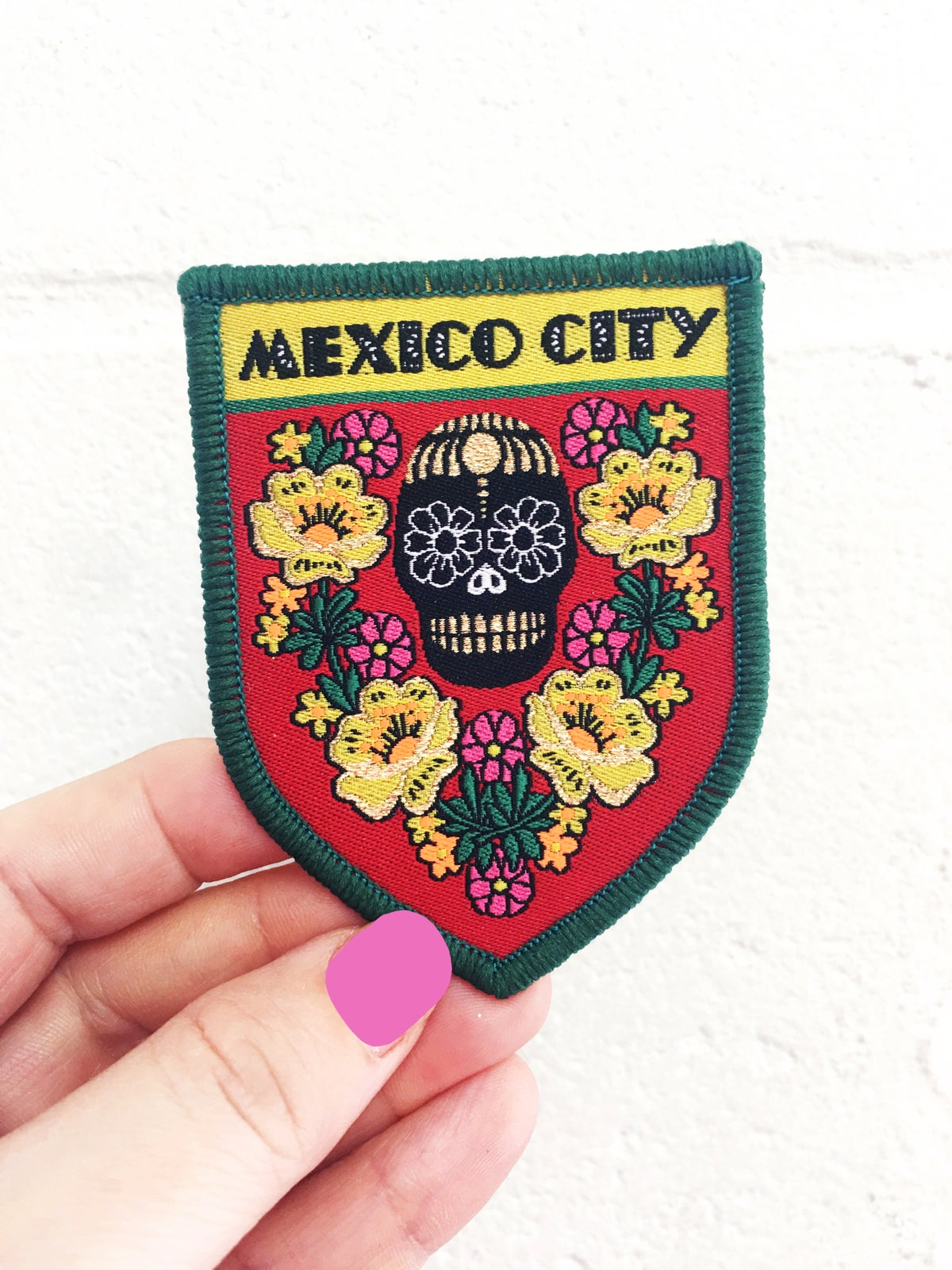 Mexico City Travel Patch