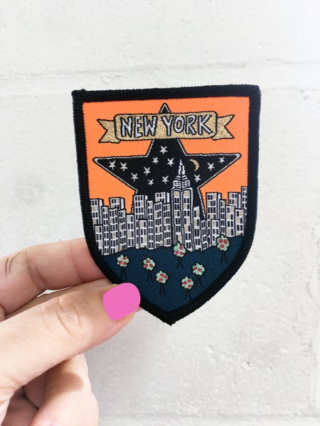 Image of New York Travel Patch - Iron on Patch