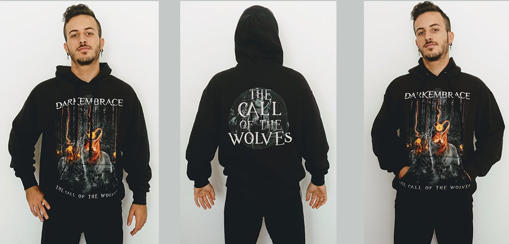 Image of The Call of The Wolves hoodie