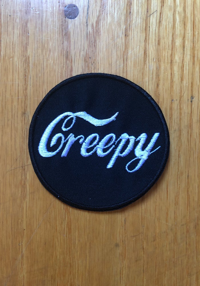 Image of Creepy Cola embroidered patch