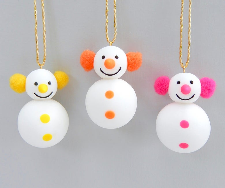 Image of Mini Neon Snowmen