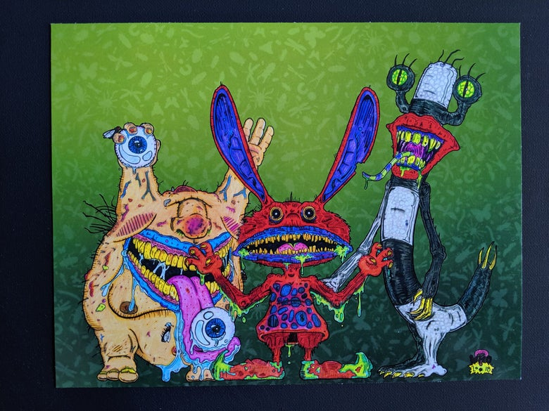Image of Aaahh Real Monsters: Krumm, Ickis, & Oblina