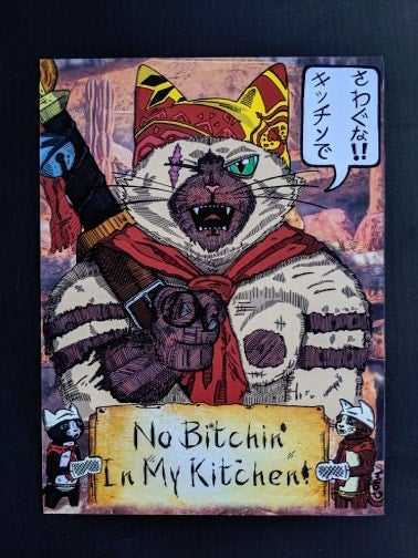 Image of Meowscular Chef: No Bitchin' In My Kitchen!