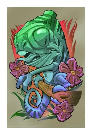 Image of Chameleon 2019 High Quality Inkjet Print
