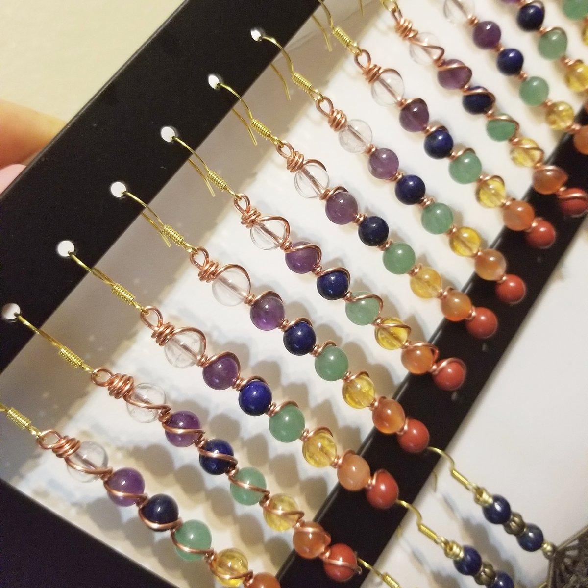 Image of Chakra earrings
