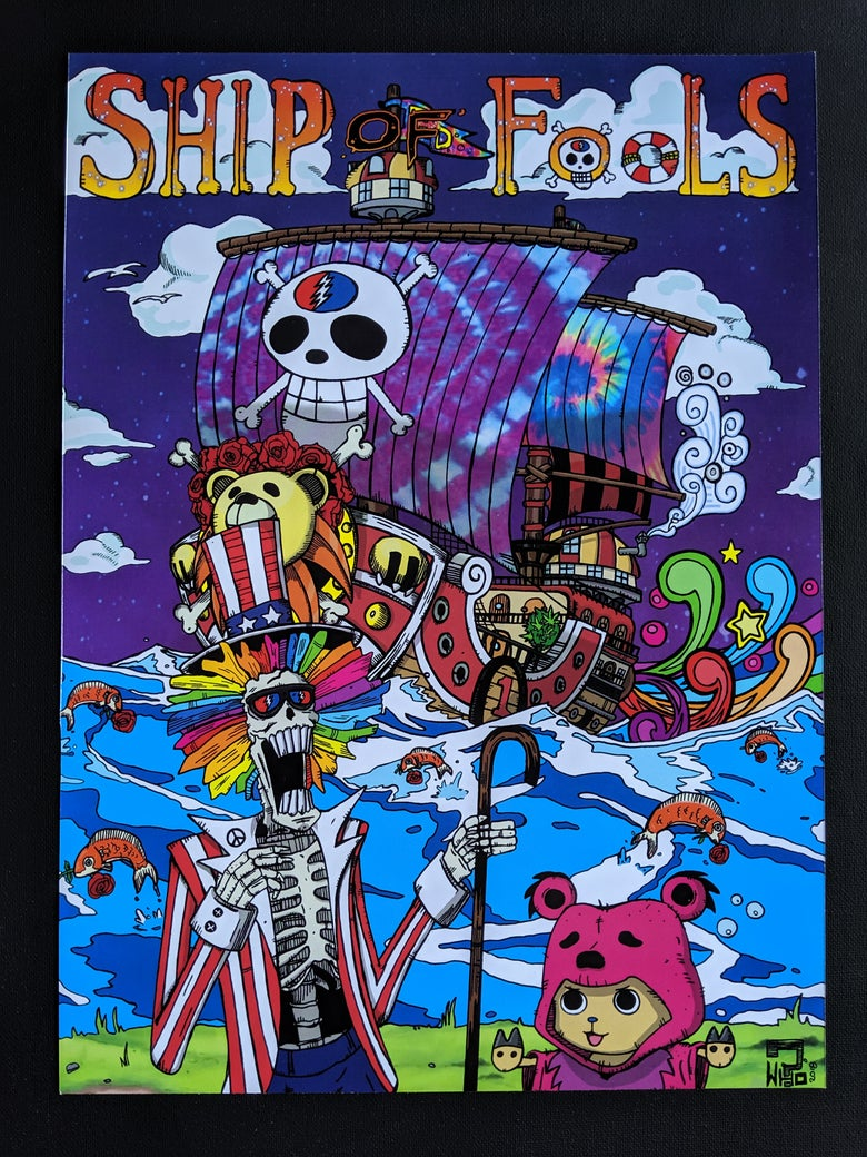 Image of Ship of Fools (One Piece/Grateful Dead)
