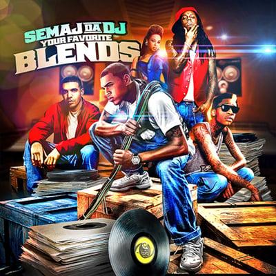 Image of Semaj da Dj - Your Favorite Blends (2011)
