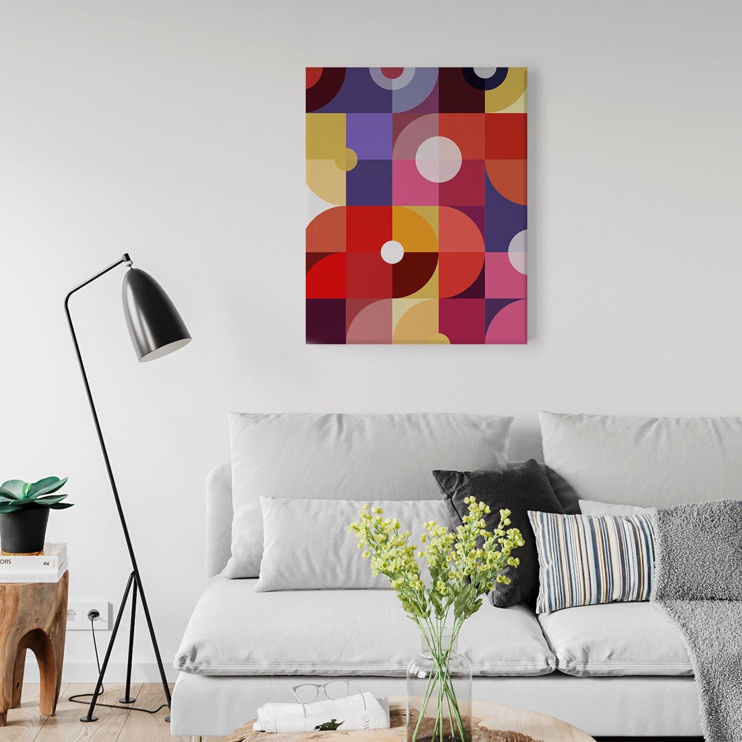 Image of Mechanics of Color No. 2 Canvas Print