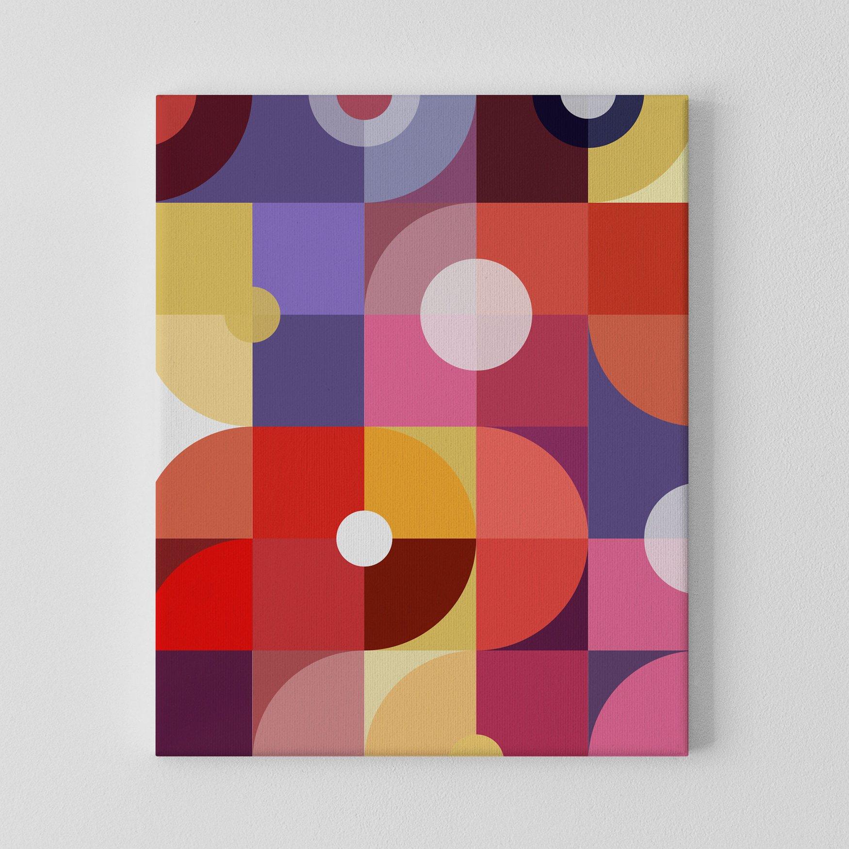 Image of Mechanics of Color No. 2 Canvas Print
