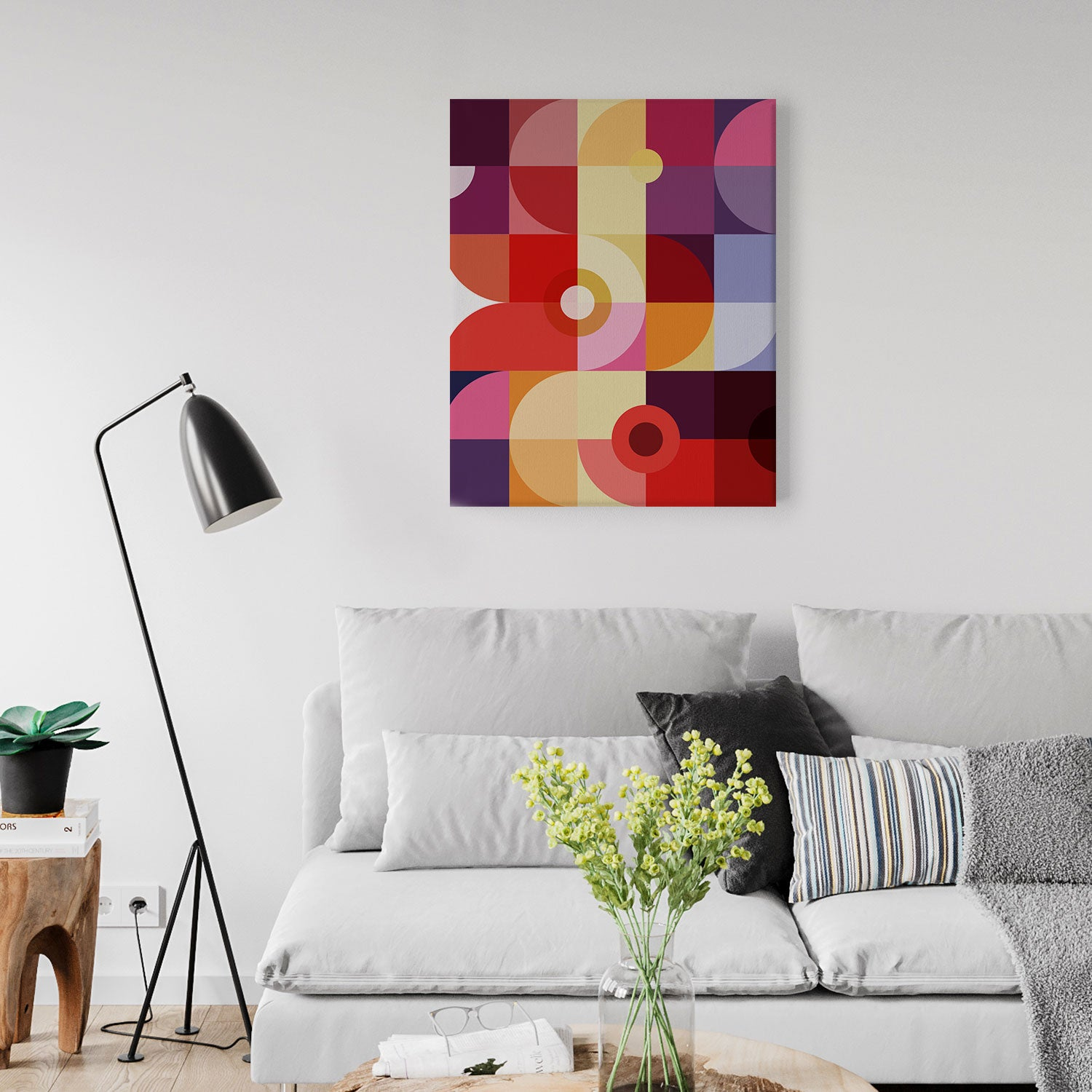 Image of Mechanics of Color No. 3 Canvas Print