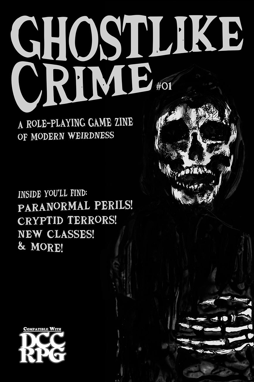 Image of Ghostlike Crime issue #01