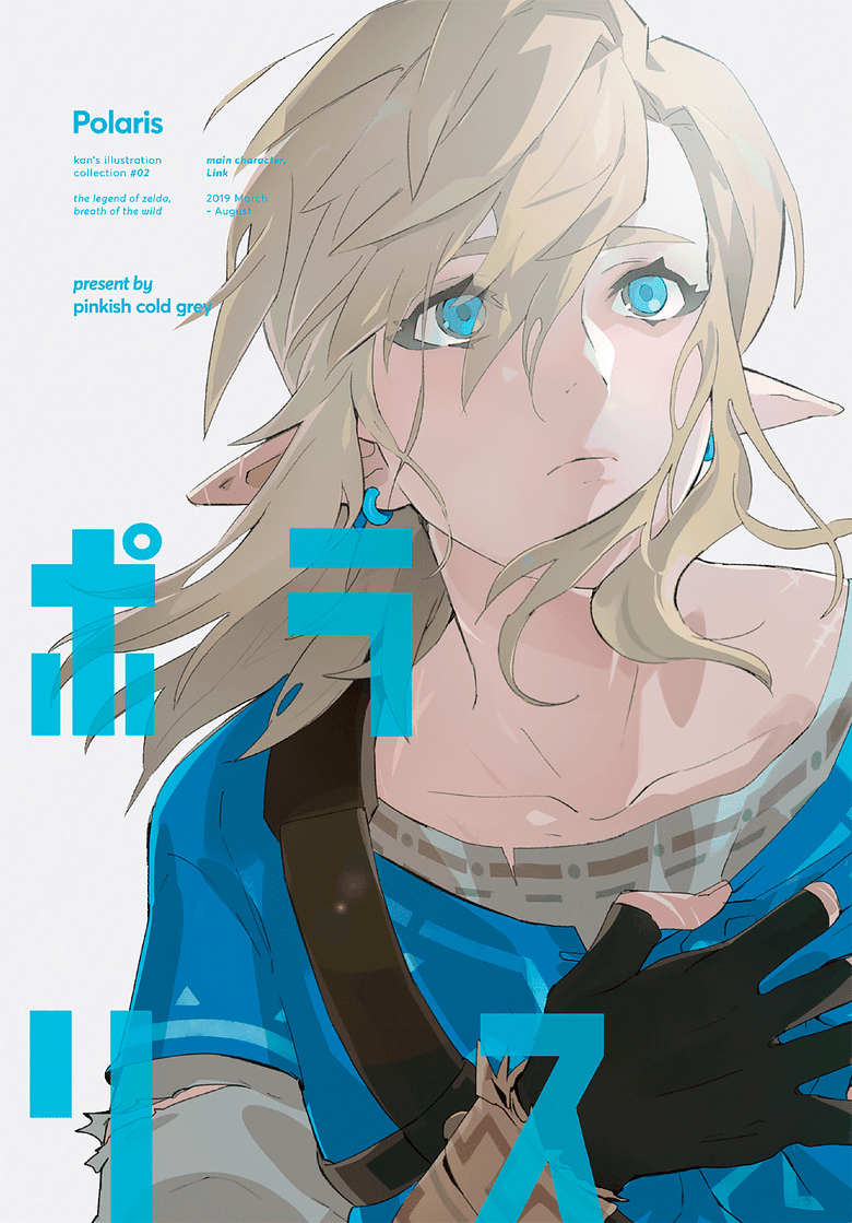 Image of Polaris / botw artbook / zelda