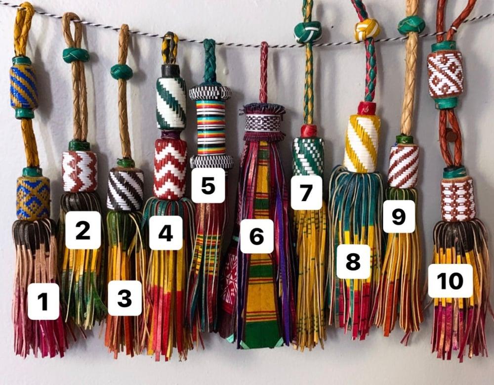 Image of Tuareg tassels