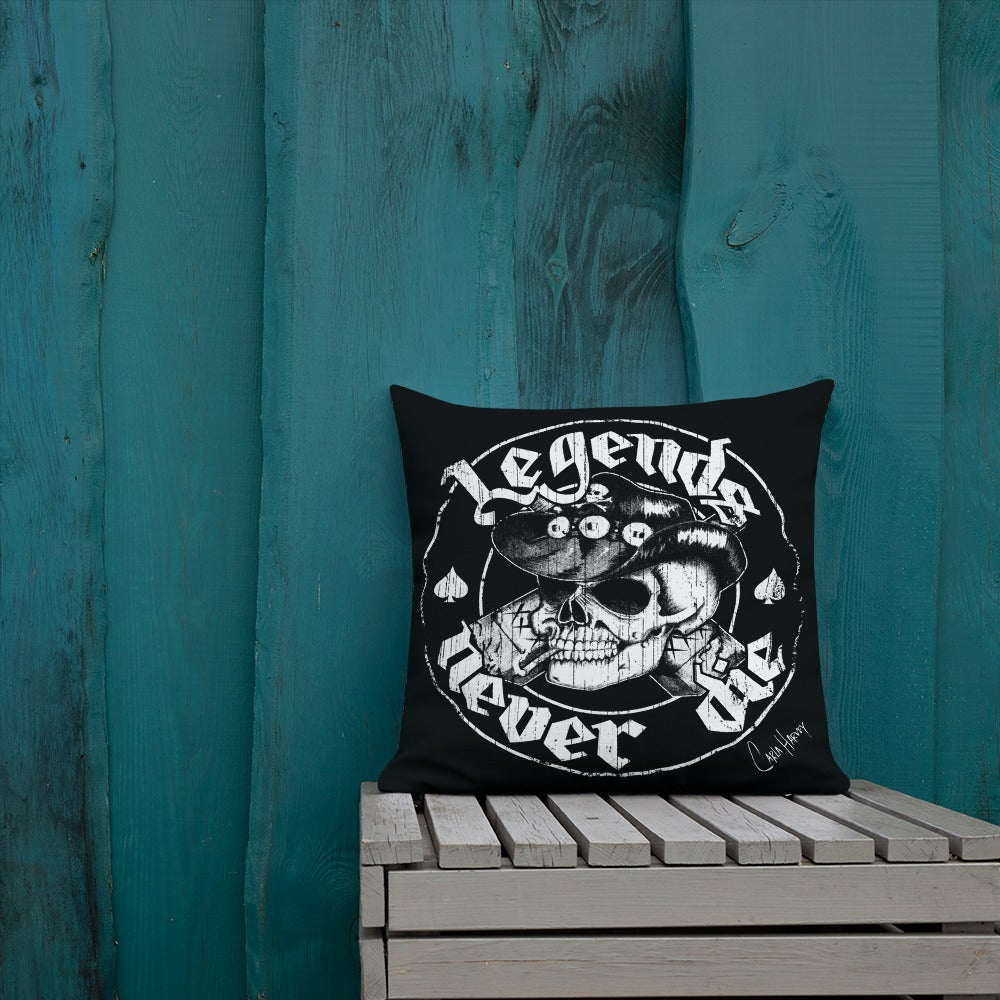 Image of Legends Never Die pillow