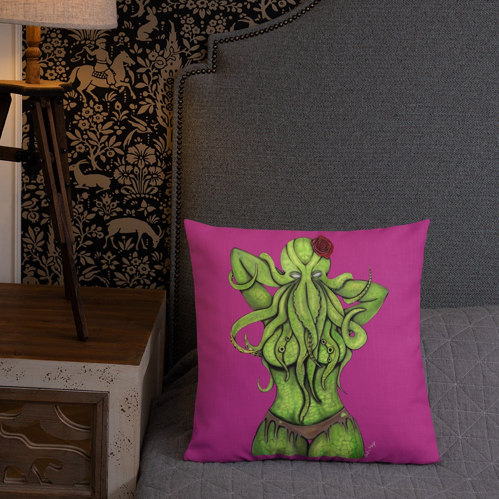 Image of Cthulha Pillow