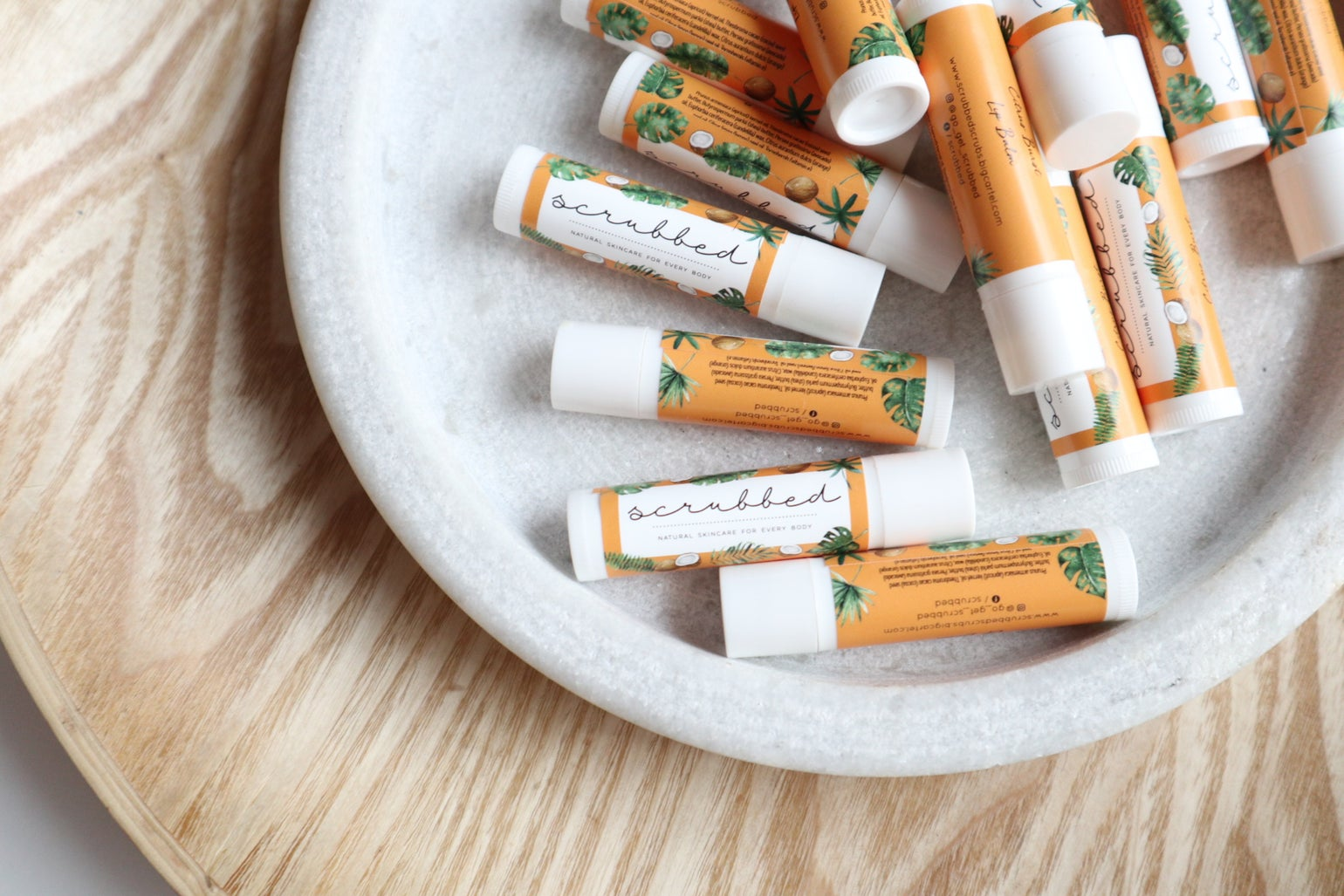 Image of Citrus Burst VEGAN Lip Balm.