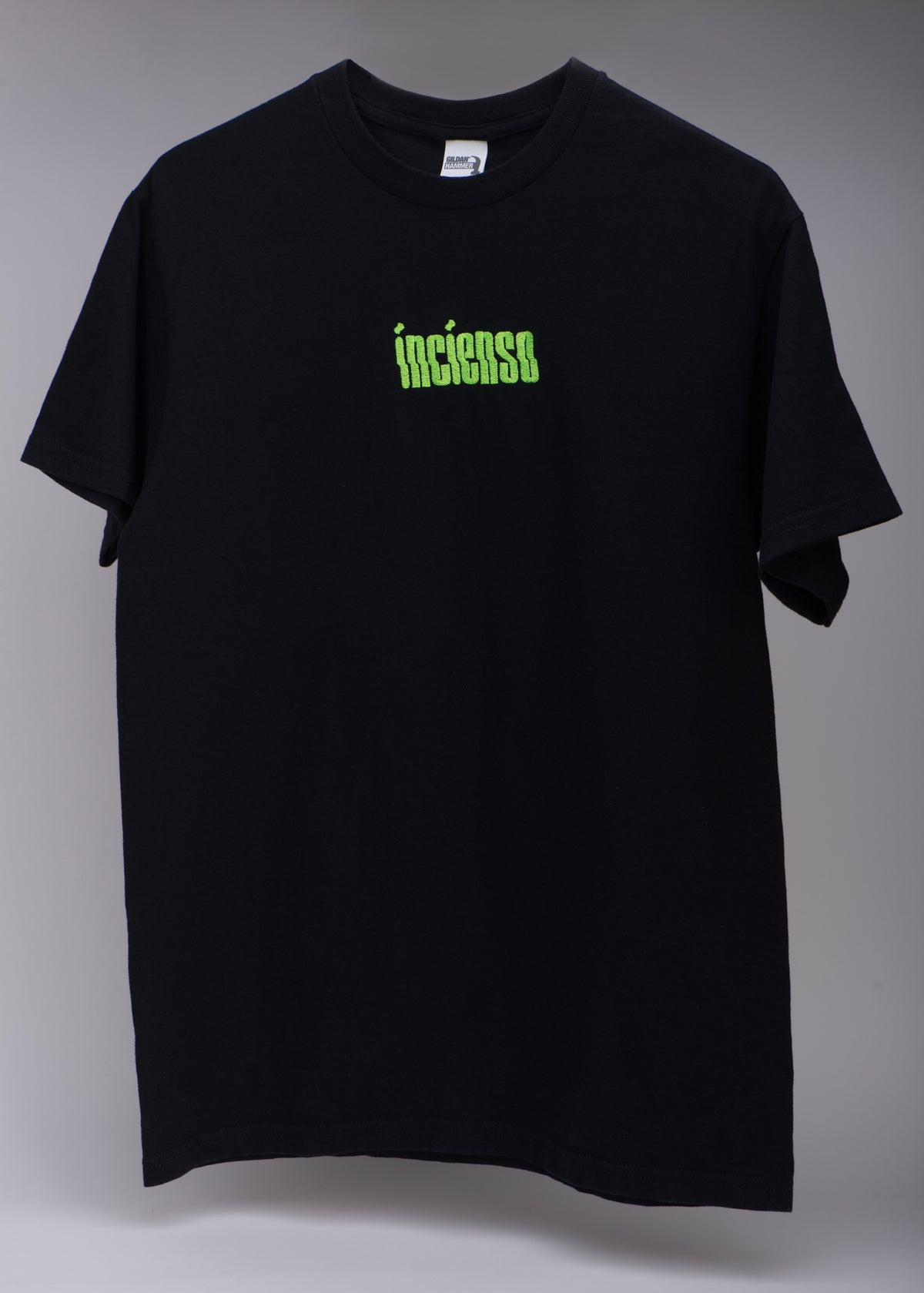 Image of EMBROIDERED LOGO TEE BLACK