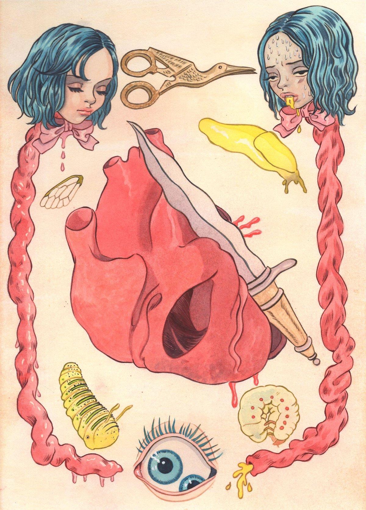 Image of Plate Illustr for the Destruction of a Homunculus (8x10)