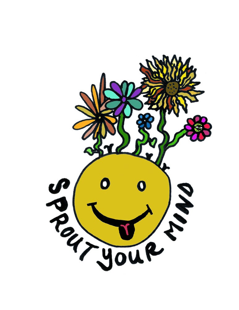 Image of Sprout Your Mind (White)
