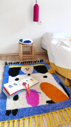 Image of Wool Rug for Kids - RUUUGS Susie