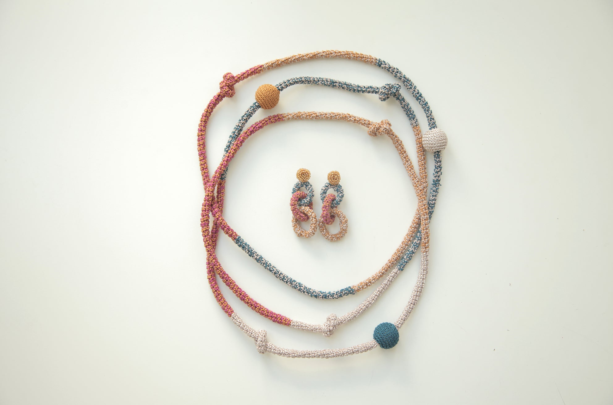 Image of Honey bee Snake Necklace