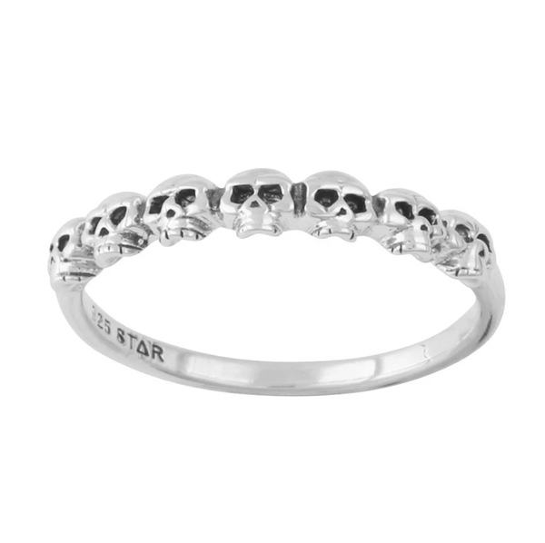 Image of Catacoomb ring (sterling silver)