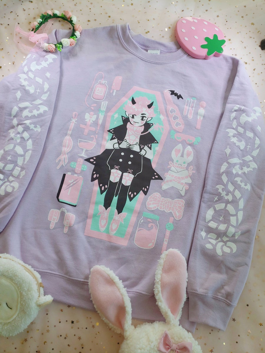 Image of Vampire Inventory Sweater