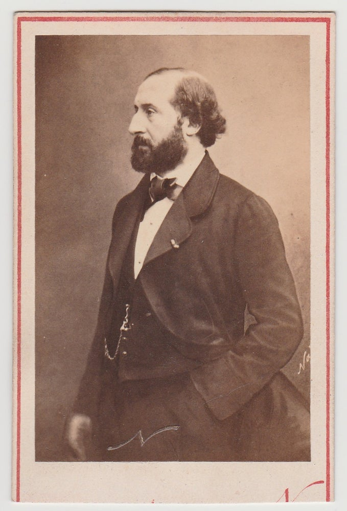 Image of Félix Nadar: Emile Augier, French poet and dramatist, ca. 1865
