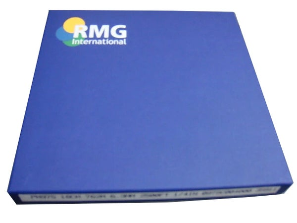"Image of CARTON OF 10 RMG 975 1/4"" 2500' REEL TO REEL EXTENDED LENGTH MASTER TAPE"