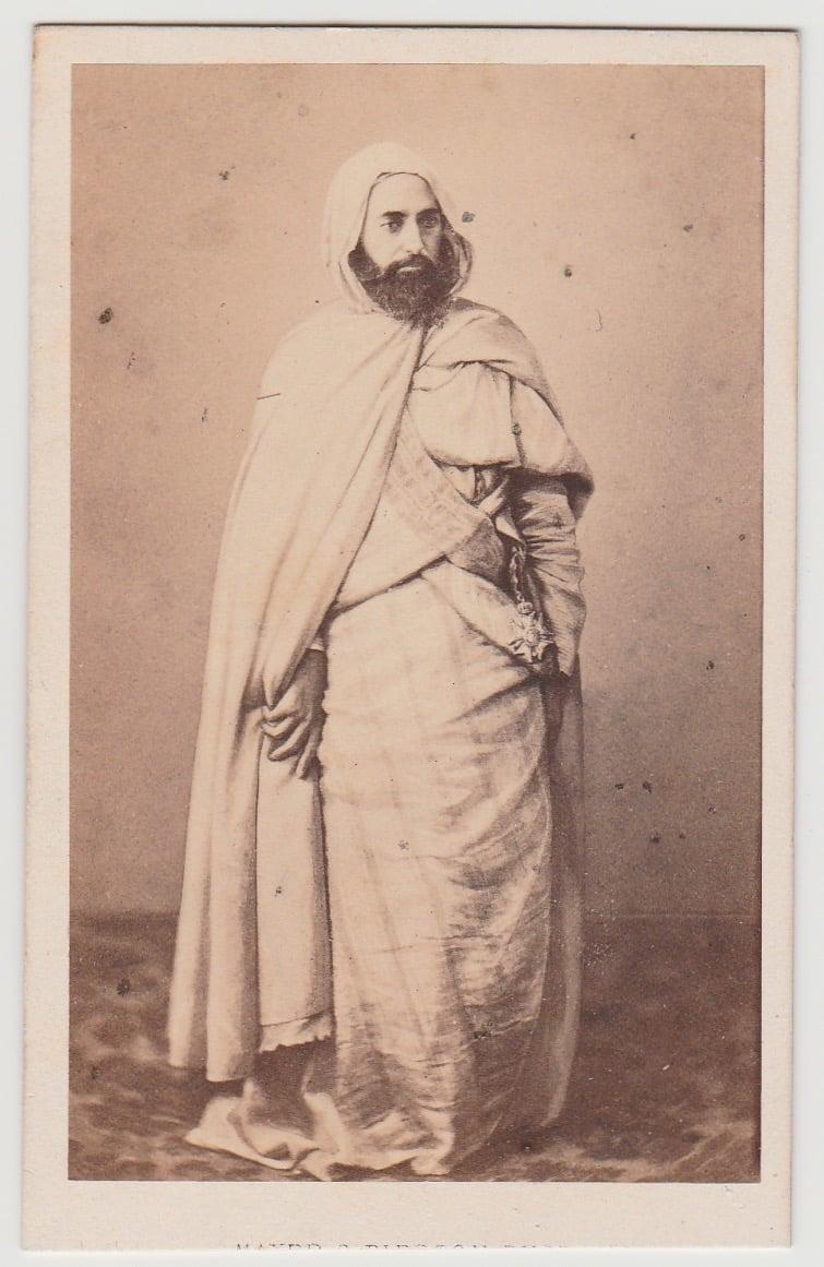 Image of Mayer & Pierson: Abd El-Kader, ca. 1860