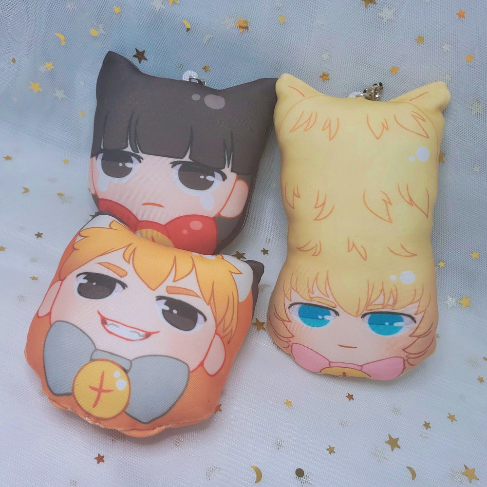 Image of Mob Psycho Plush Keychains [PREORDER]