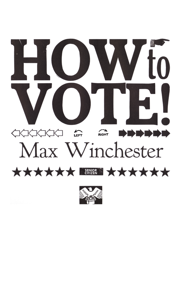 Image of How to Vote, by Max Winchester