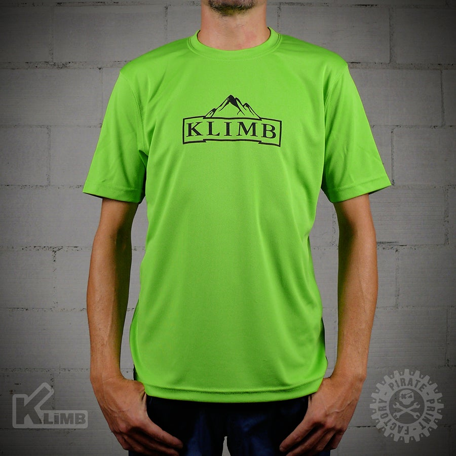 Image of T-SHIRT SPORT MOUNTAIN LIME GREEN