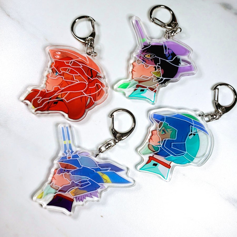 Image of 3D NGE Charms