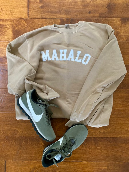 Image of Mahalo University SAND Pullover