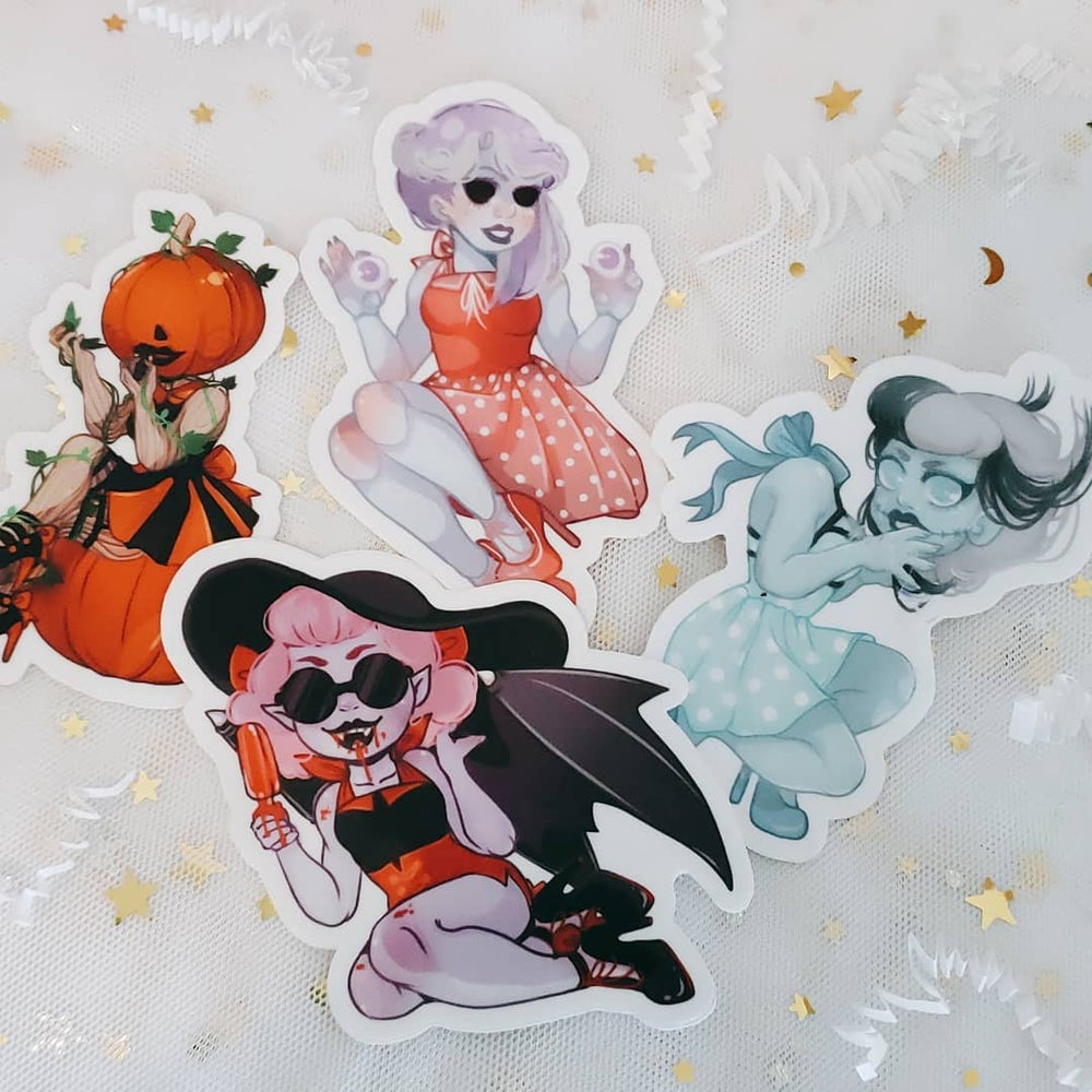 Image of Monster Girl Stickers