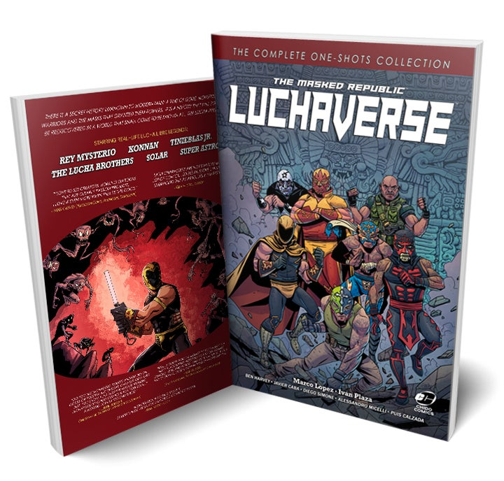 Image of 33% OFF! The Masked Republic Luchaverse: The Complete One-Shots Collection (TPB)