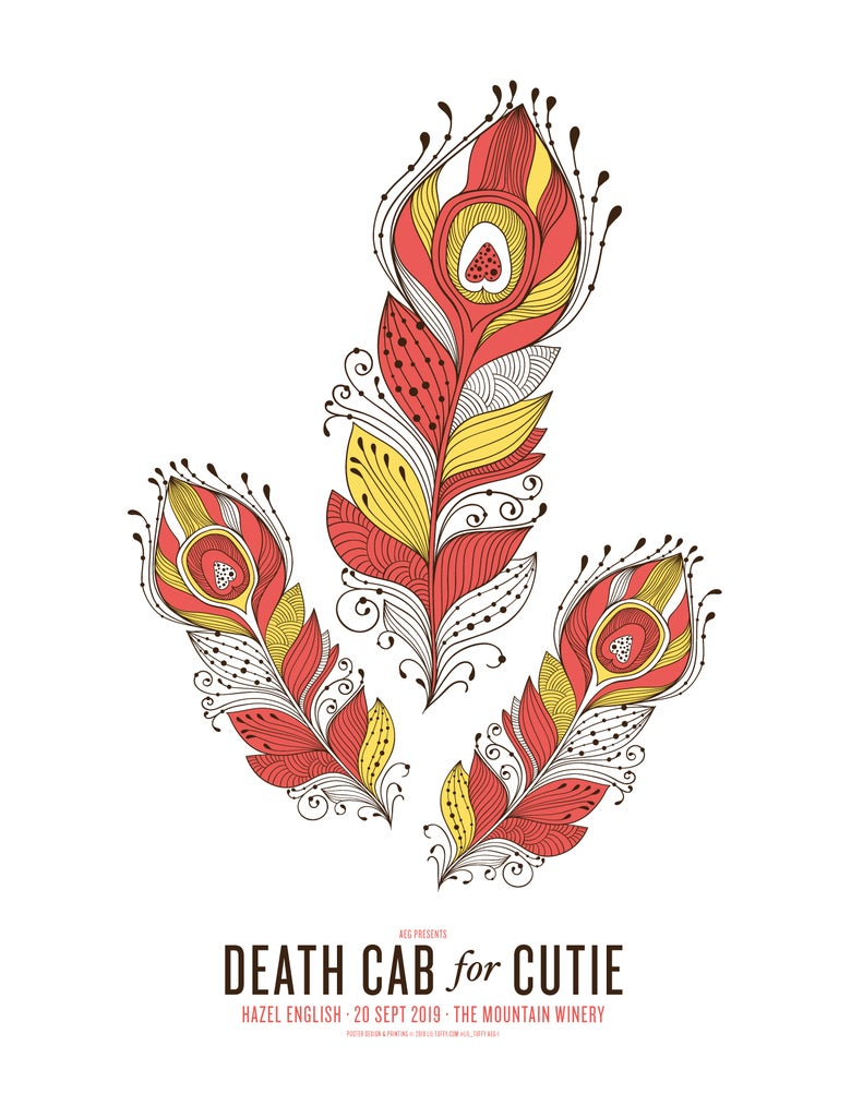 Image of Death Cab for Cutie - Saratoga