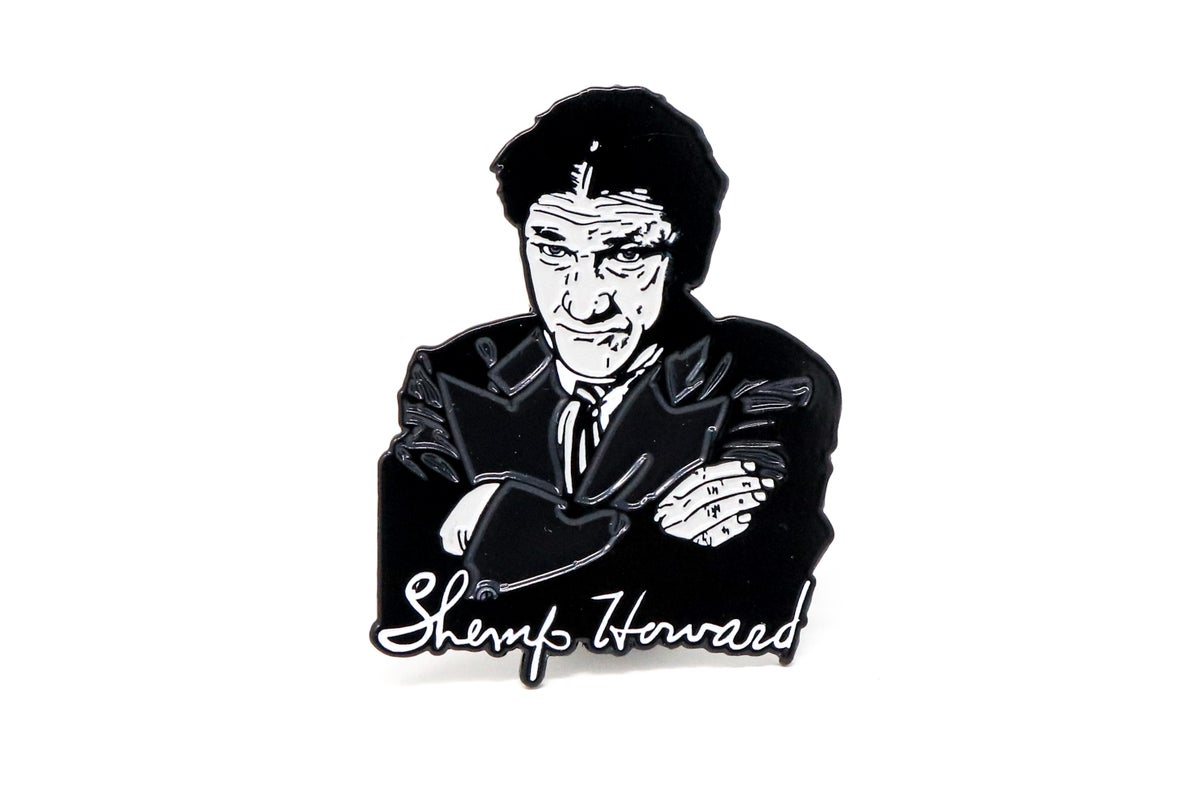 Image of The Three Stooges - Shemp Howard Enamel Pin