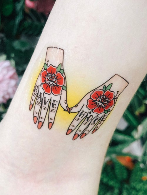 Image of Sheet temporary tattoos