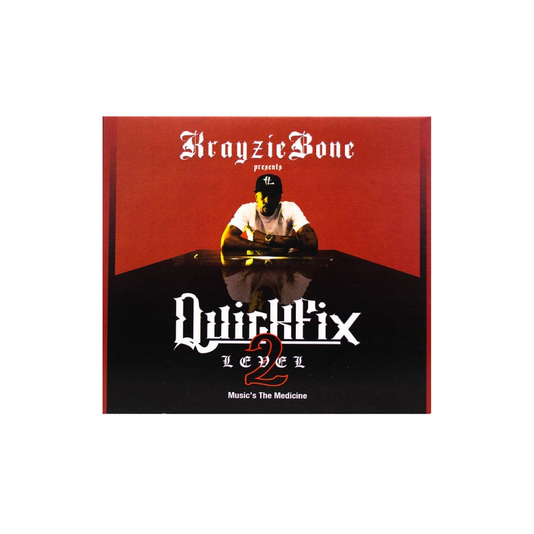 Image of Krayzie Bone : QUICKFIX 2 Physical Copy