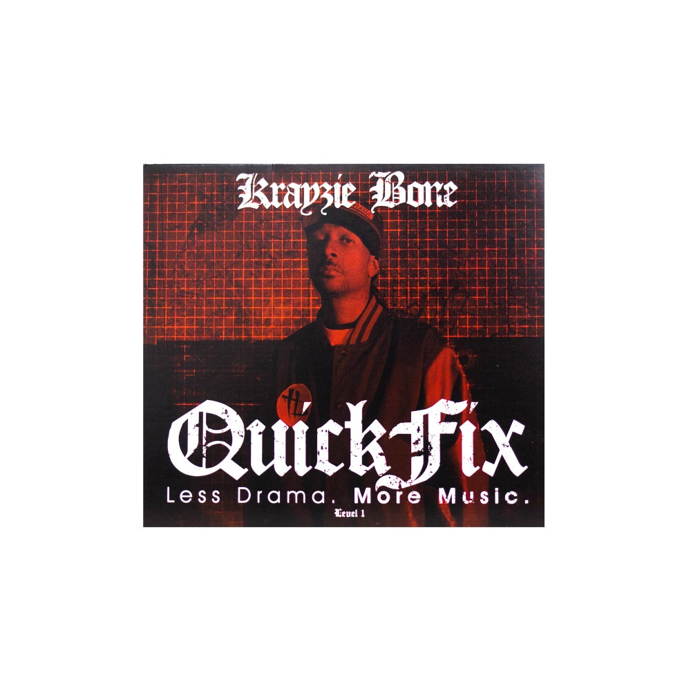 Image of Krayzie Bone: QUICKFIX 1 Physical Re release